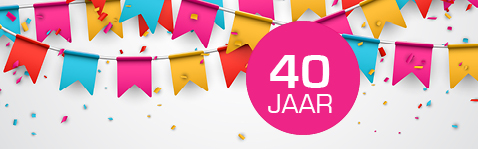 kaart 40 jaar in dienst Kaart 40 Jaar In Dienst   ARCHIDEV kaart 40 jaar in dienst